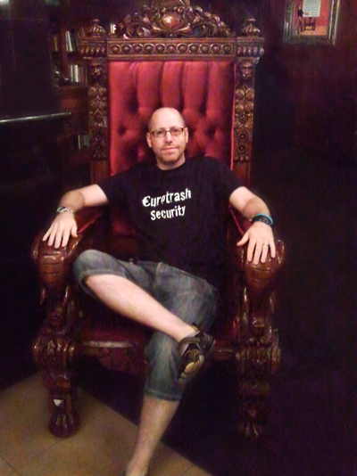 Look at me all up in that throne looking casual :D