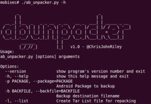 unpacker